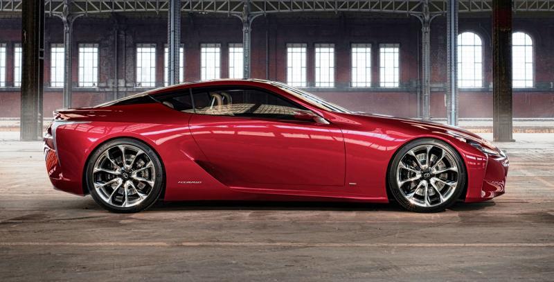 Concept Flashback - Lexus LF-LC in 77 High-Res Photos - Future LF-B 76