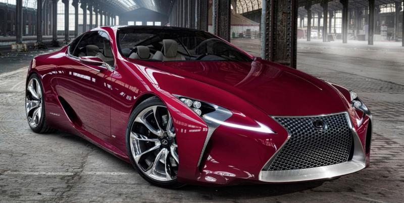Concept Flashback - Lexus LF-LC in 77 High-Res Photos - Future LF-B 77