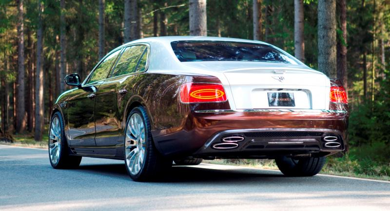 Mansory Bentley Flying Spur versus Mansory Rolls-Royce Wraith 5