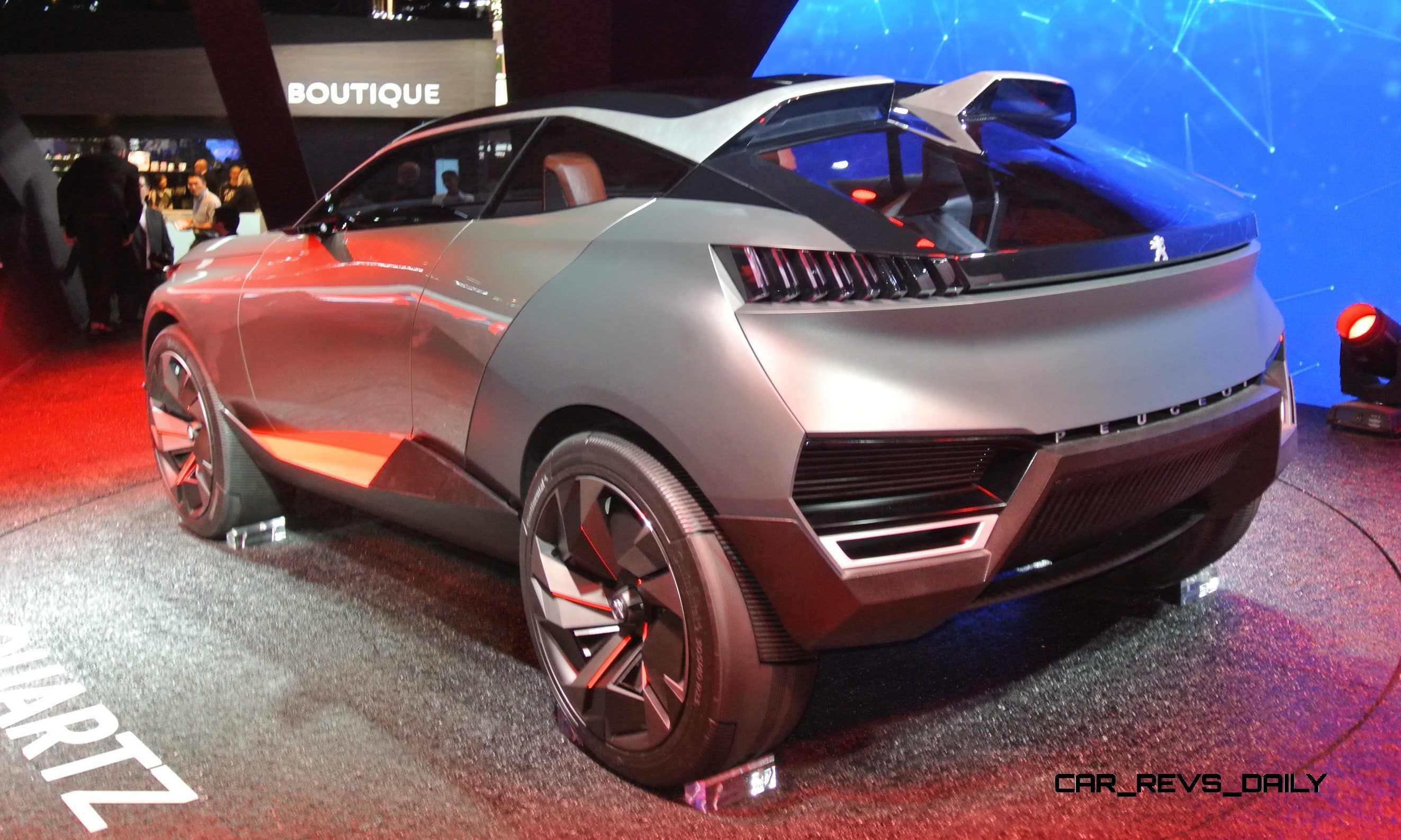 2014 Peugeot Quartz And Dkr Prototype Top Paris Concept