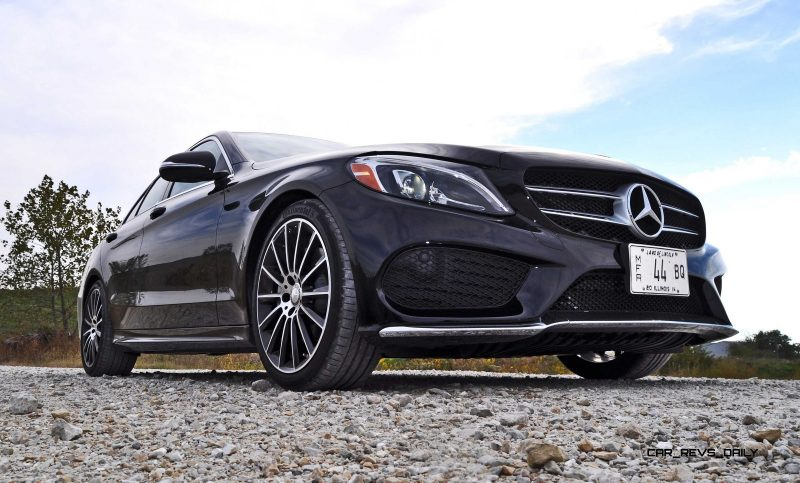 Road Test Review - 2015 Mercedes-Benz C300 4Matic Sport 90
