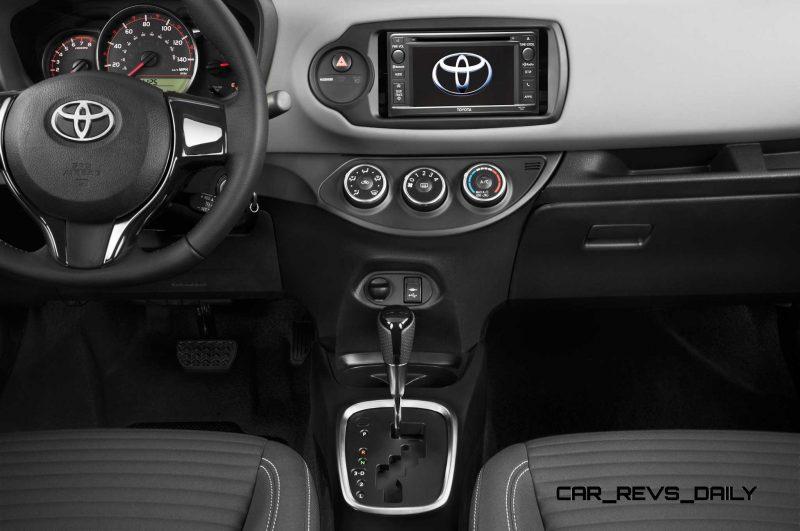 Road Test Review - 2015 Toyota Yaris SE 5-Door 24