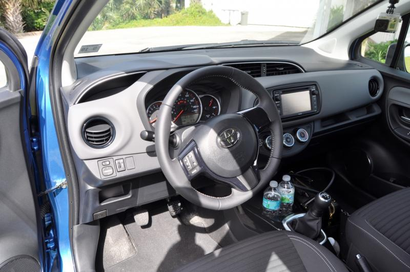 Road Test Review - 2015 Toyota Yaris SE 5-Door 42