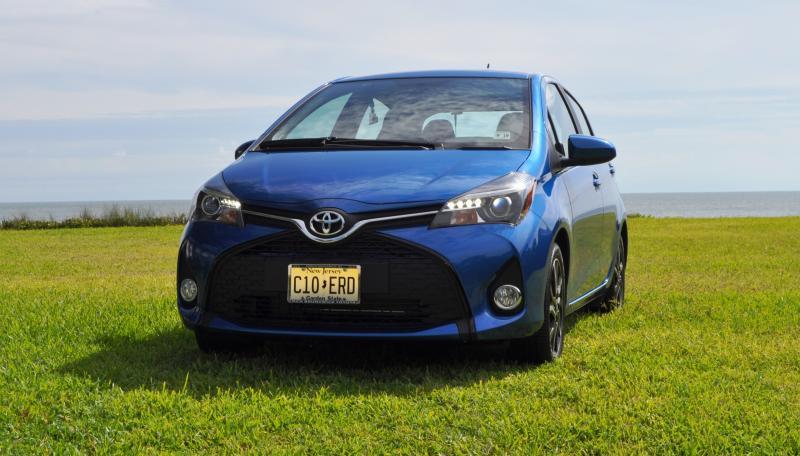 Road Test Review - 2015 Toyota Yaris SE 5-Door 51