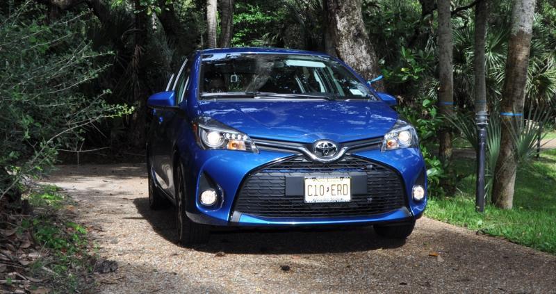 Road Test Review - 2015 Toyota Yaris SE 5-Door 88