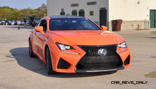 Track Drive Review - 2015 Lexus RCF Is Roaring Delight Around Autobahn Country Club 28