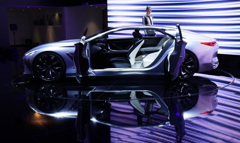 Updated With 42 New Photos - INFINITI Q80 Inspiration Concept Flagship 7