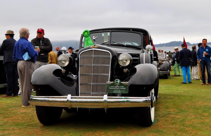 1935 Cadillac 370D Fleetwood V12 Town Cabriolet 12