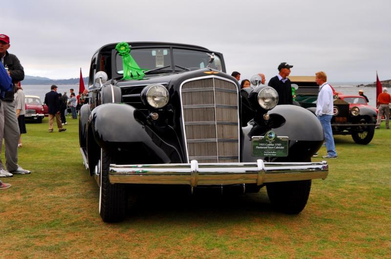 1935 Cadillac 370D Fleetwood V12 Town Cabriolet 16