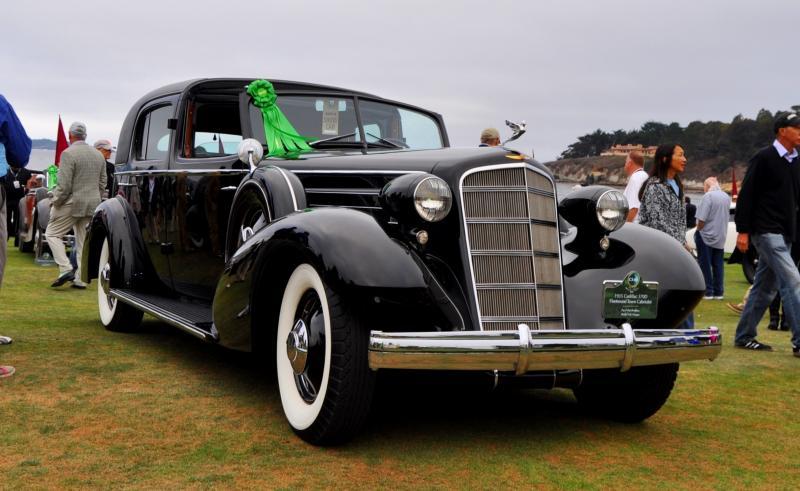 1935 Cadillac 370D Fleetwood V12 Town Cabriolet 18