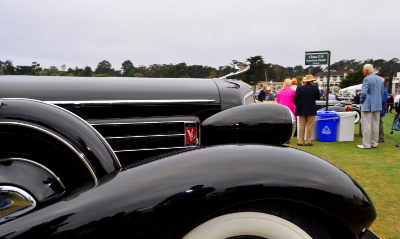 1935 Cadillac 370D Fleetwood V12 Town Cabriolet 20
