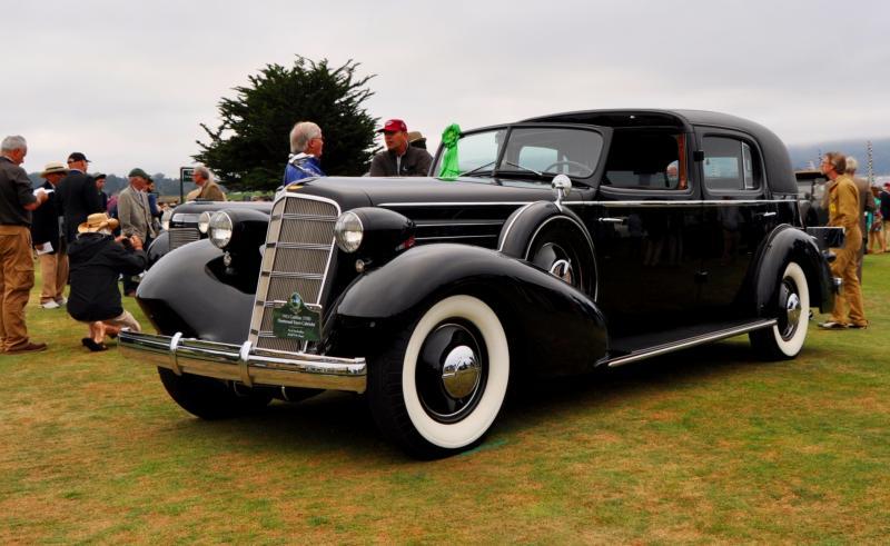 1935 Cadillac 370D Fleetwood V12 Town Cabriolet 7