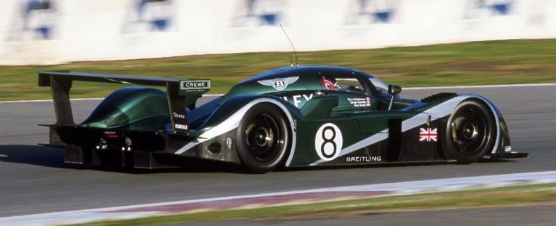 2001 Bentley Speed 8 LMP1 1