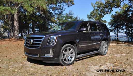 2015 Cadillac Escalade Luxury AWD 47