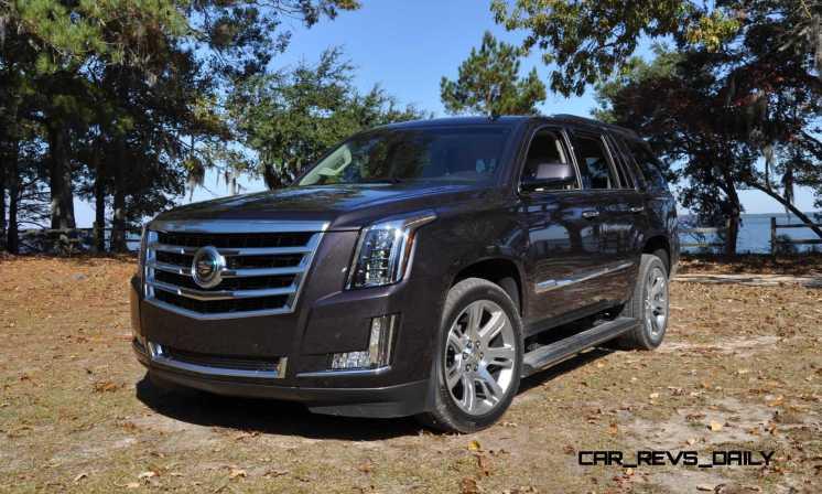 2015 Cadillac Escalade Luxury AWD 48