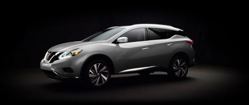 2015 Nissan Murano Brilliant Silver 1