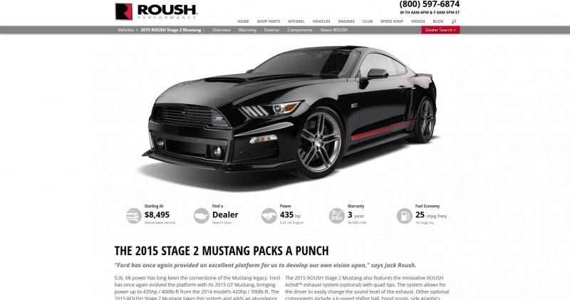 2015 ROUSH Mustang 3