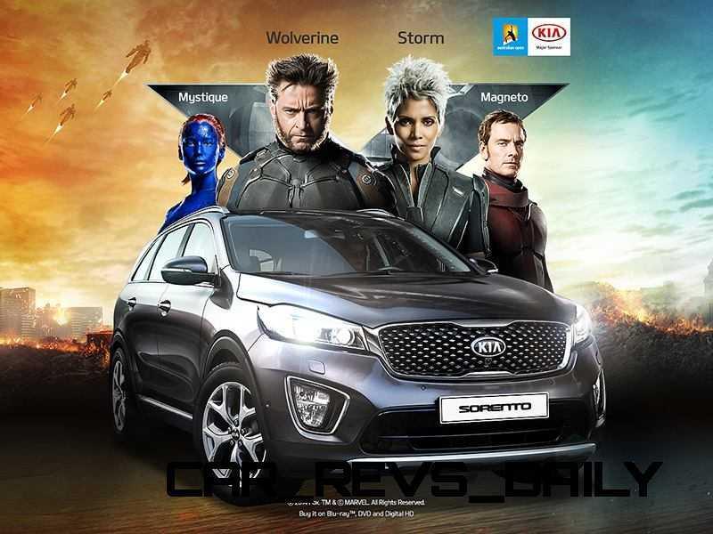 2016 Kia Sorento X-Men 3