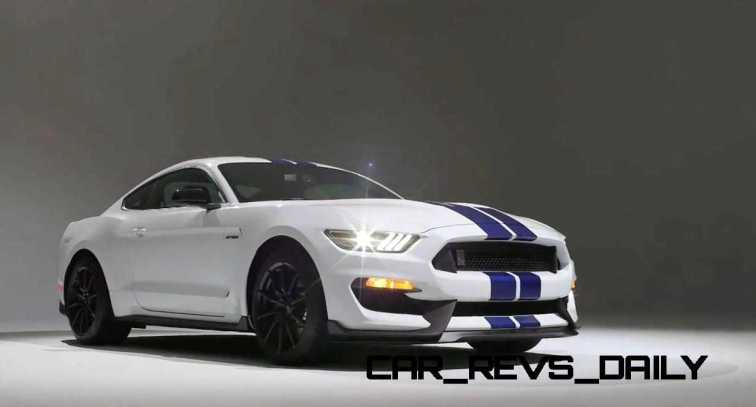 2016 SHELBY GT350 Mustang White 104
