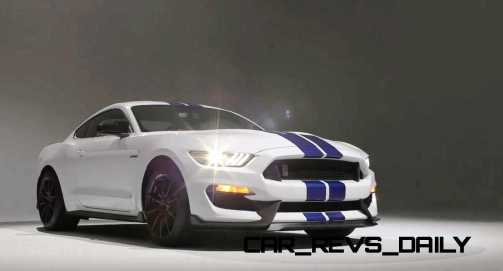 2016 SHELBY GT350 Mustang White 106
