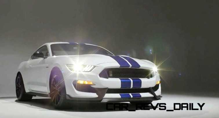 2016 SHELBY GT350 Mustang White 108
