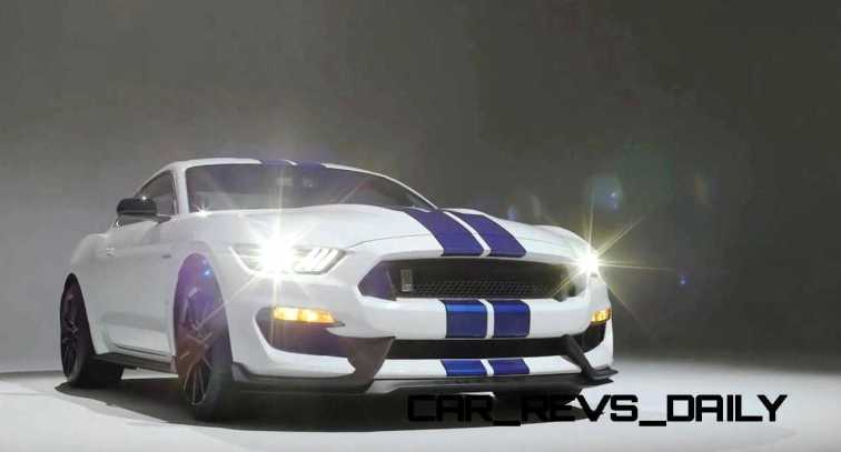 2016 SHELBY GT350 Mustang White 109
