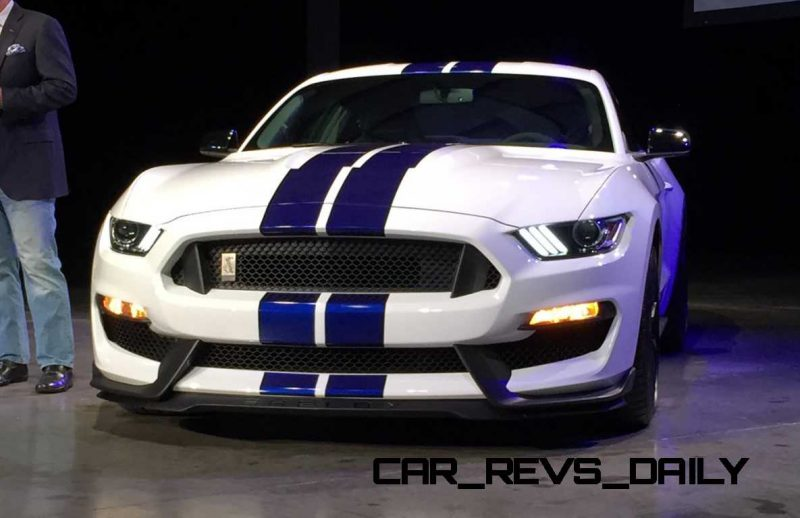 2016 SHELBY GT350 Mustang White 130