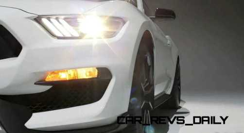 2016 SHELBY GT350 Mustang White 35