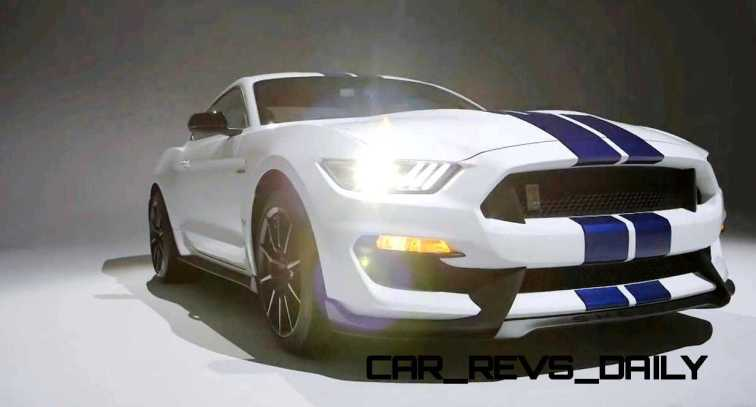 2016 SHELBY GT350 Mustang White 54