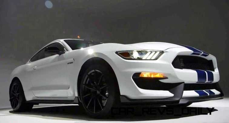 2016 SHELBY GT350 Mustang White 59