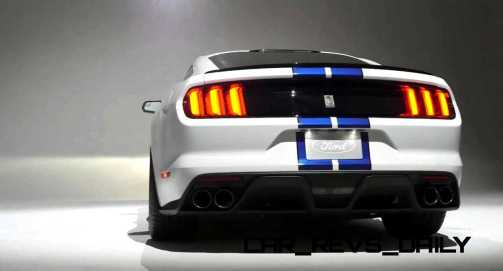 2016 SHELBY GT350 Mustang White 61