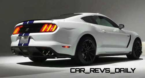 2016 SHELBY GT350 Mustang White 71