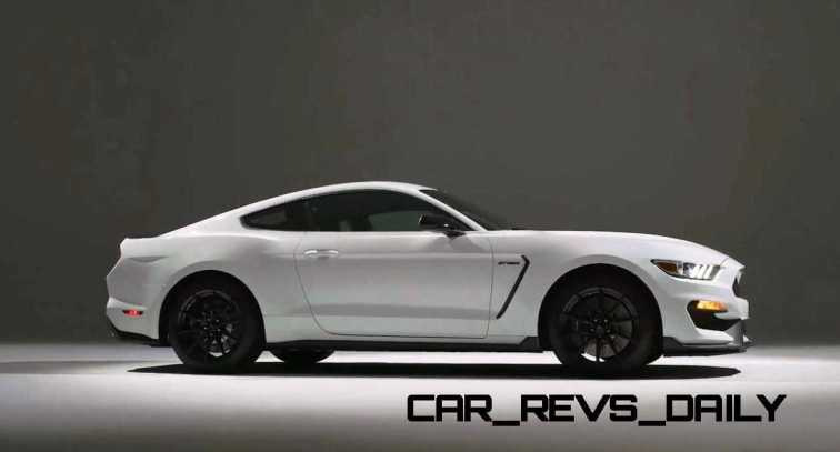 2016 SHELBY GT350 Mustang White 91