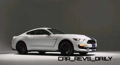 2016 SHELBY GT350 Mustang White 97