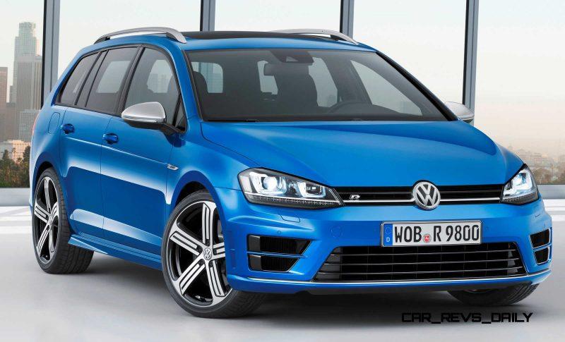 2016 Volkswagen Golf R Sportwagen 23