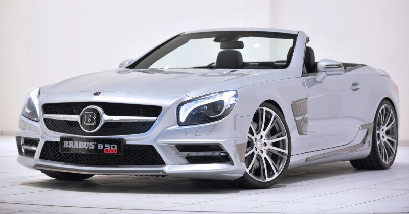 BRABUS Mercedes-Benz SL550 R231 54