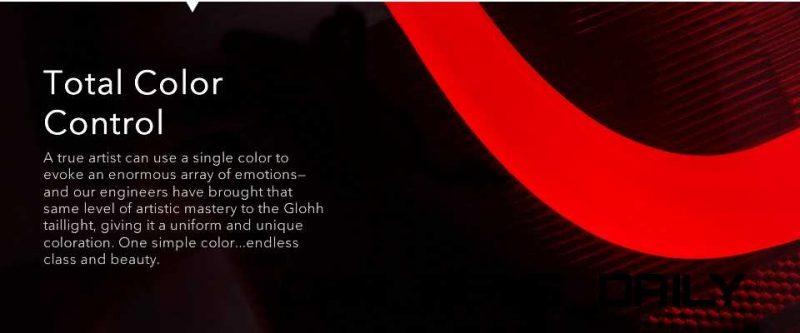 GLOHH RRS LED taillamp 33