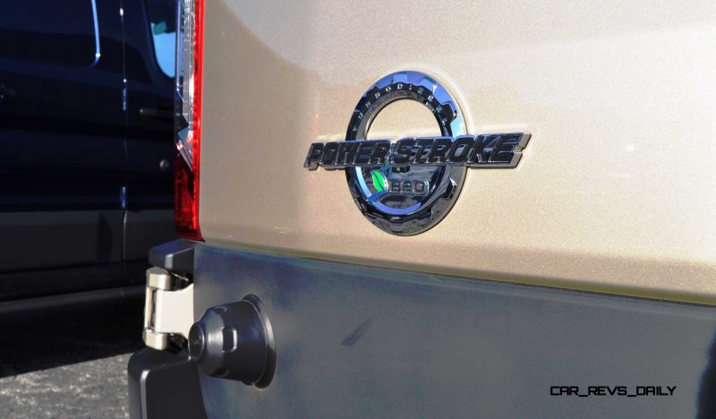HD Track Drive Review - 2015 Ford Transit PowerStroke Diesel High-Roof, Long-Box Cargo Van 28
