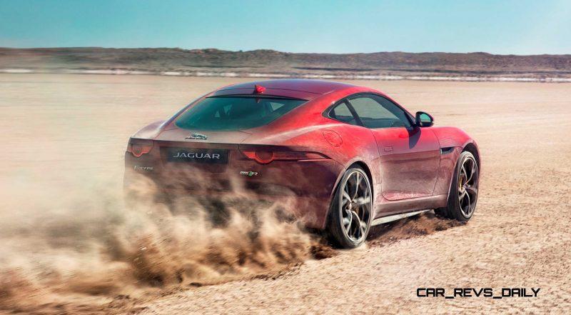 New all-wheel-drive Jaguar F-Type R boosts Bloodhound SSC record bid-60197