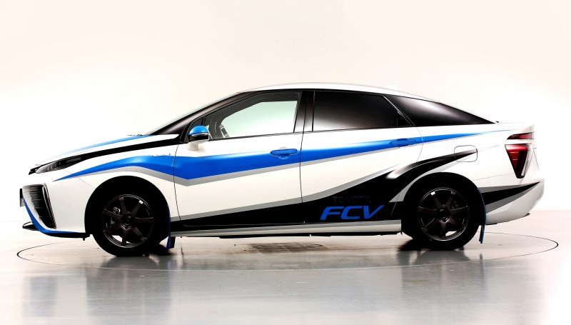 Toyota Mirai Rally Car 3