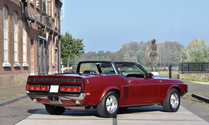 1969 Shelby GT500 Convertible 2