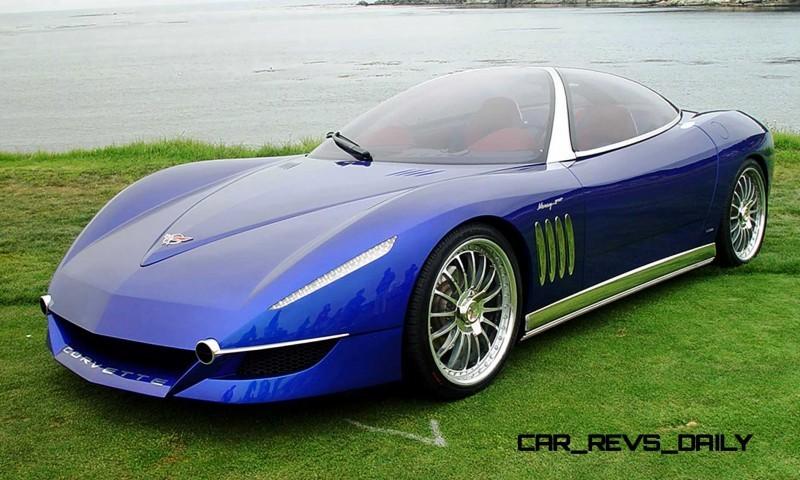 2003 ItalDesign Moray Corvette By Giugiaro 14