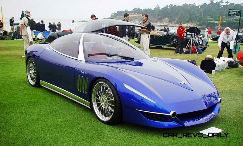 2003 ItalDesign Moray Corvette By Giugiaro 15