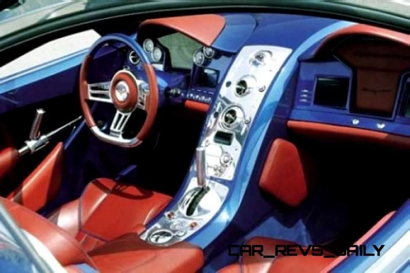 2003 ItalDesign Moray Corvette By Giugiaro 21