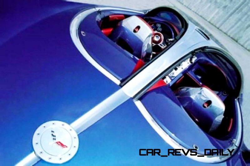 2003 ItalDesign Moray Corvette By Giugiaro 25