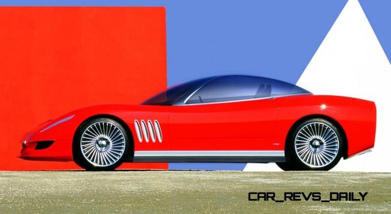 2003 ItalDesign Moray Corvette By Giugiaro 9
