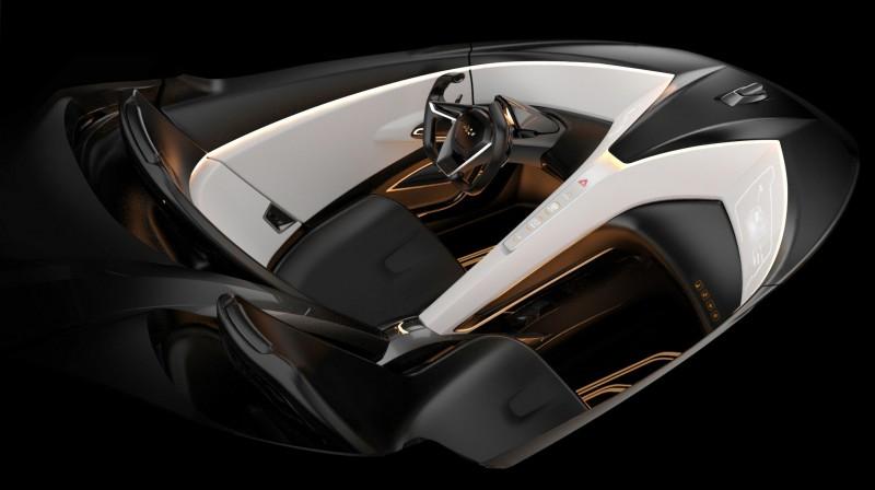 2011 Chevrolet Miray Roadster Concept 2