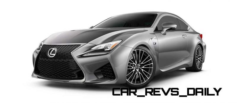 2015 Lexus RC F Colors and Wheels Visualizer 20
