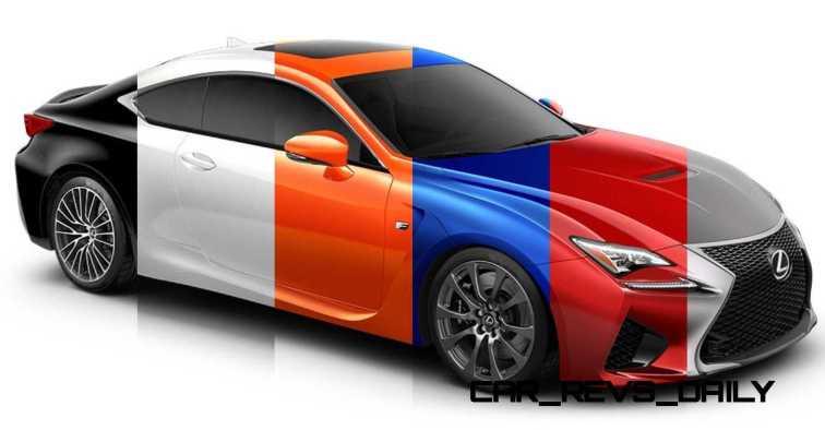 2015 Lexus RC F Colors and Wheels Visualizer 37_001-horz