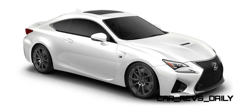 2015 Lexus RC F Colors and Wheels Visualizer 38